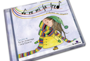 Portada del CD Do re mi fa fred. L'hivern en cançons.