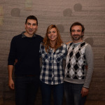 Autors: els músics Sergi Esparza i Ferran Andechaga amb la il·lustradora Jèssica Llagostera