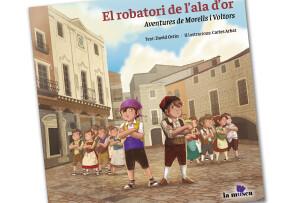 Conte infantil de David Ortin il·lustrat per Carles Arbat.